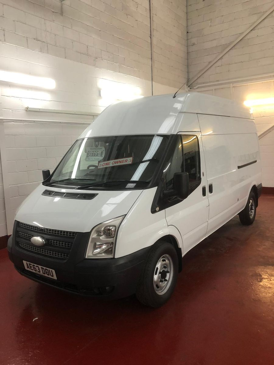 2013 63 FORD TRANSIT 2.2TDCi 125PS EU5 350 LWB