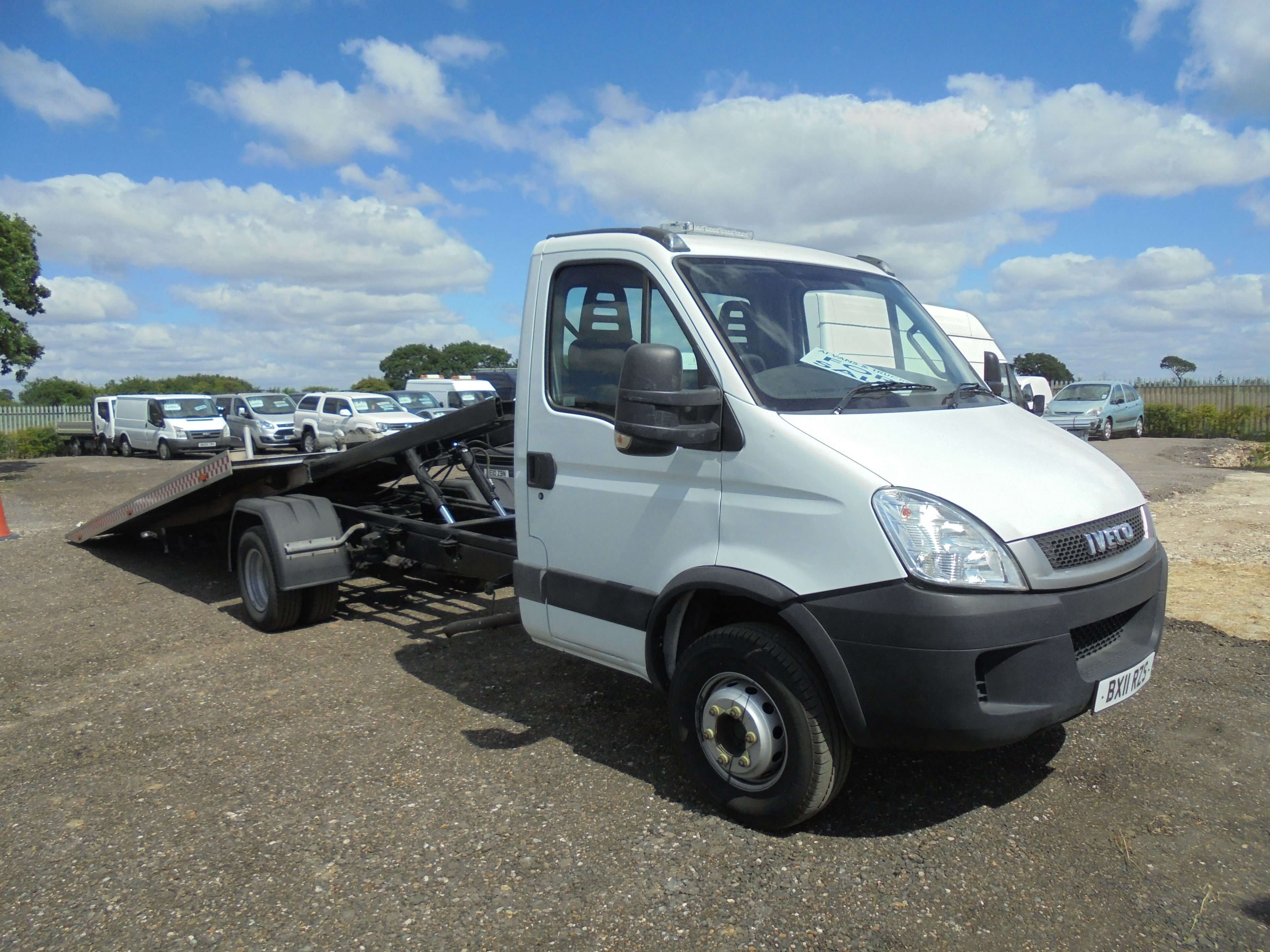 2011 IVECO DAILY 70C17 3.0TD TILT AND SLIDE RECOVE