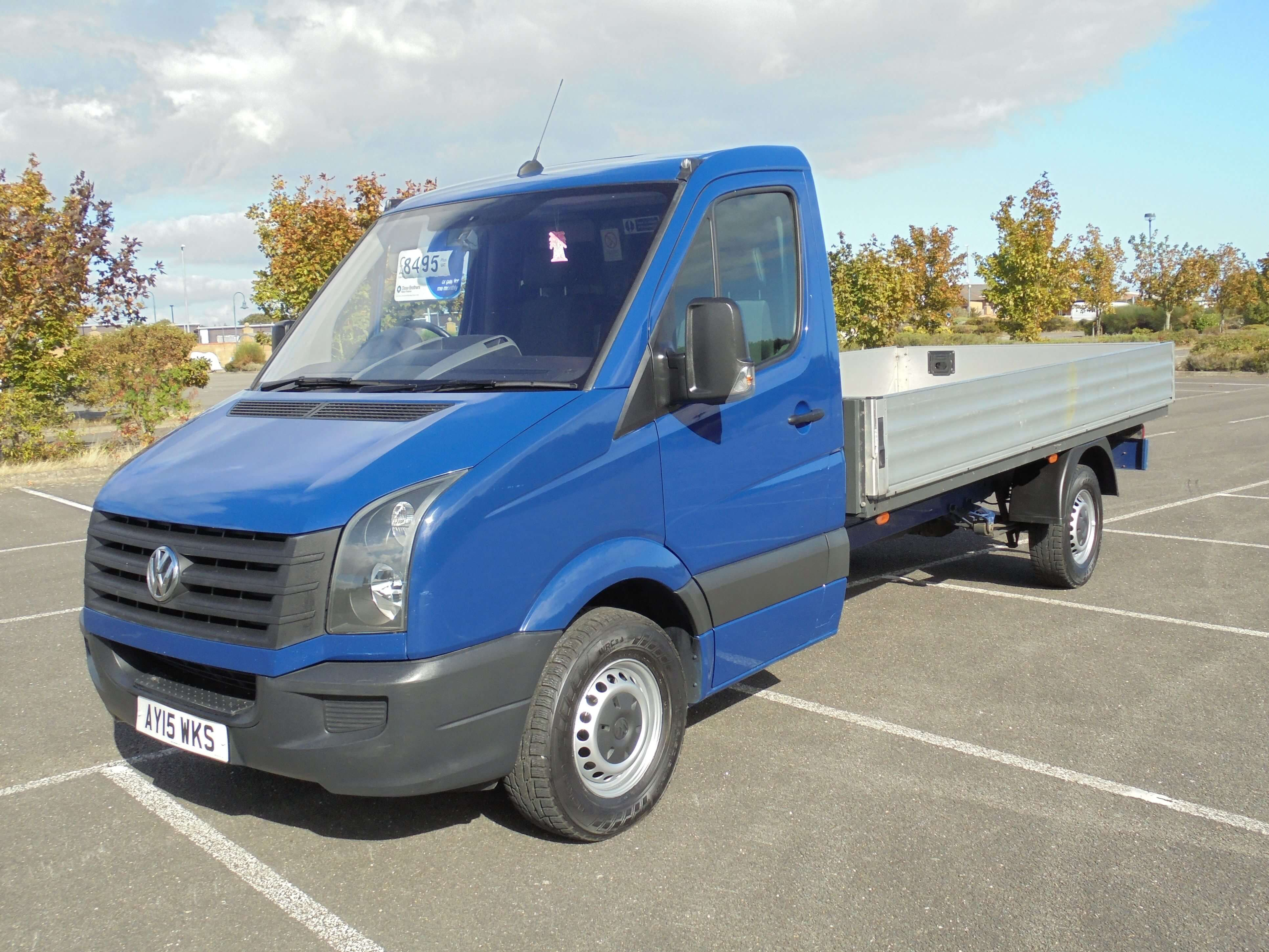 2015 VW VOLKSWAGEN CRAFTER 2.0TDI 14ft DROPSIDE