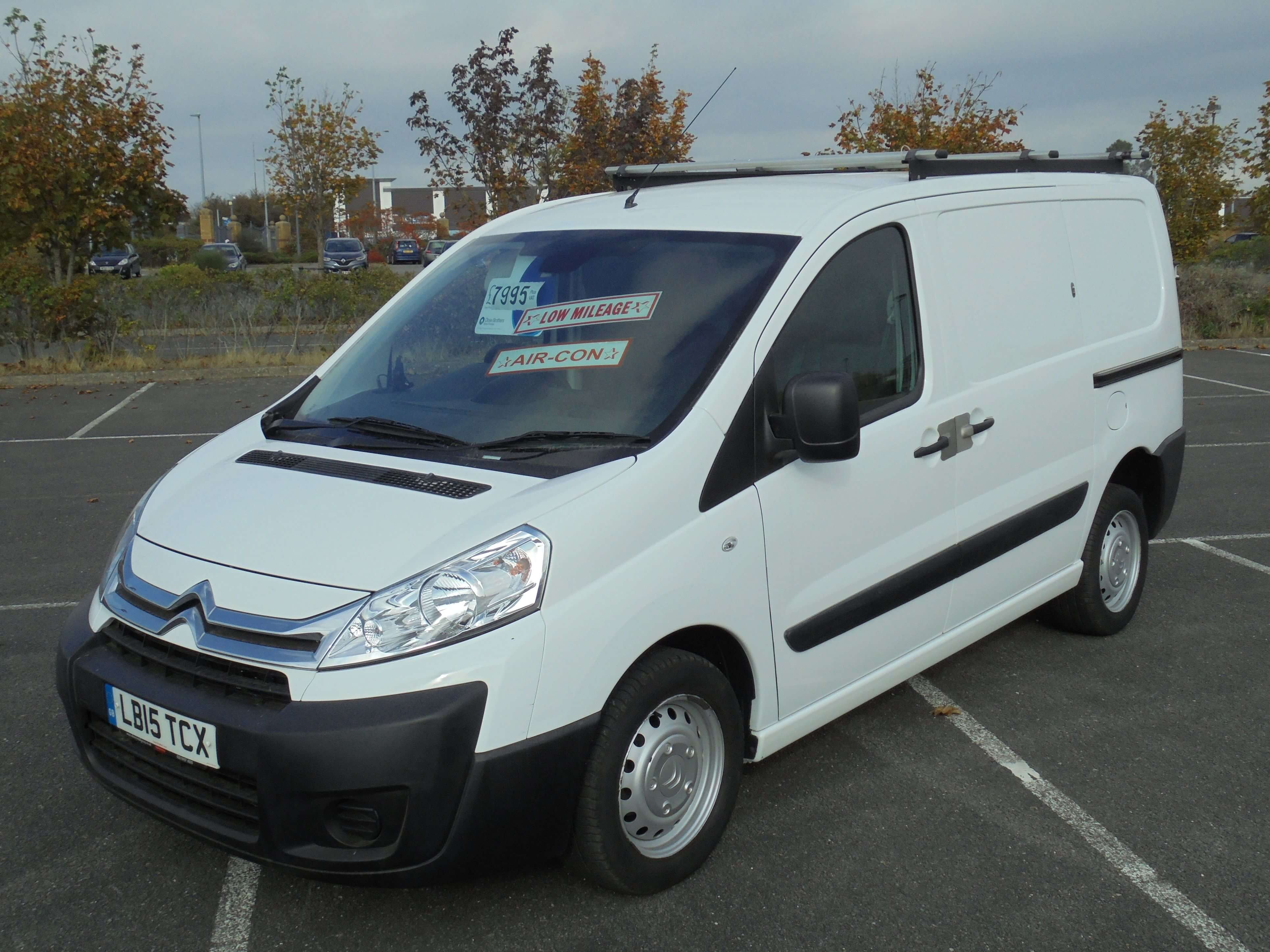 2015 15 CITROEN DISPATCH 1.6HDi 1000 90 L1H1 ENTER
