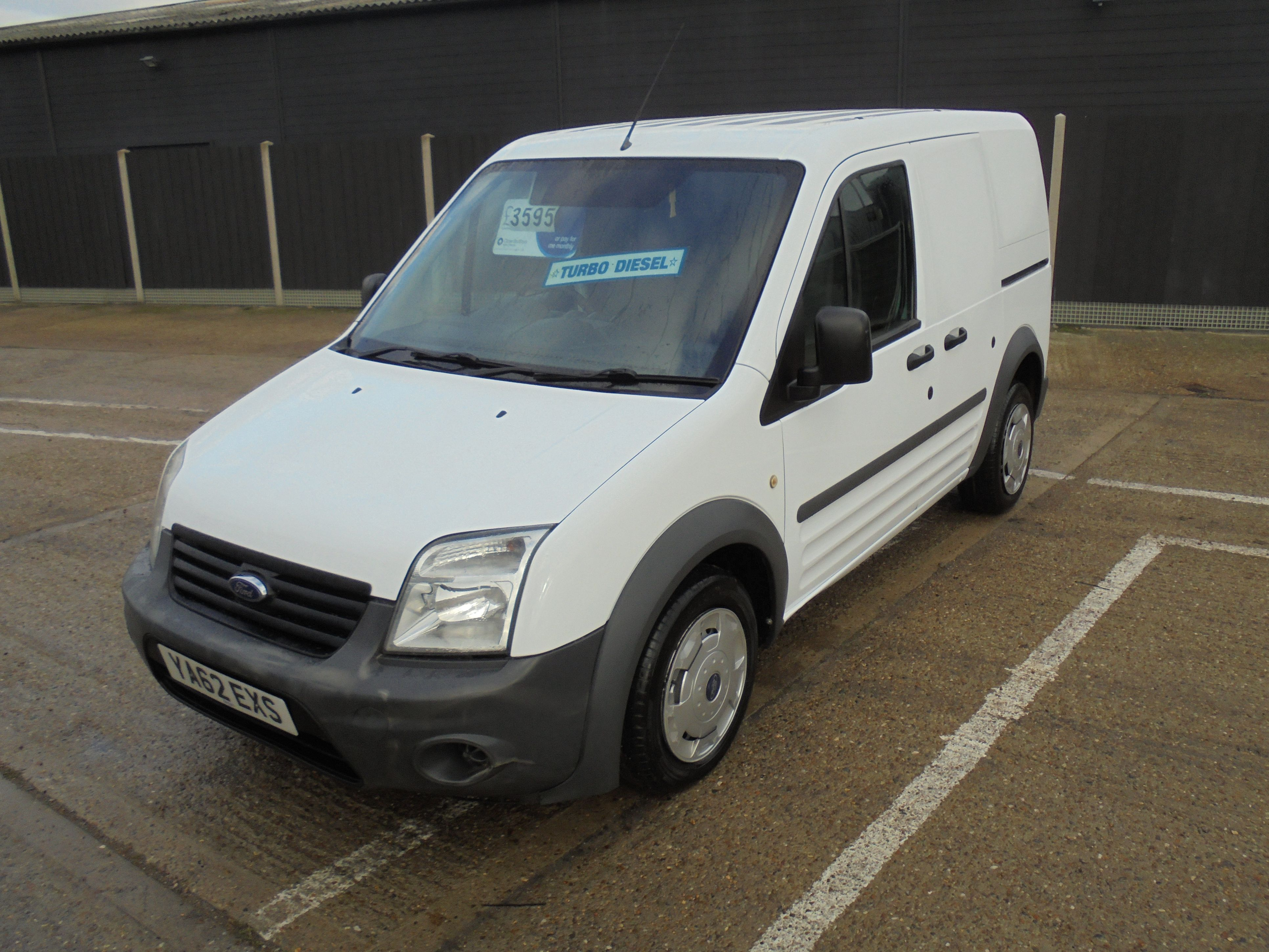 2013 62 FORD TRANSIT CONNECT 1.8TDCi 75PS T200 SWB