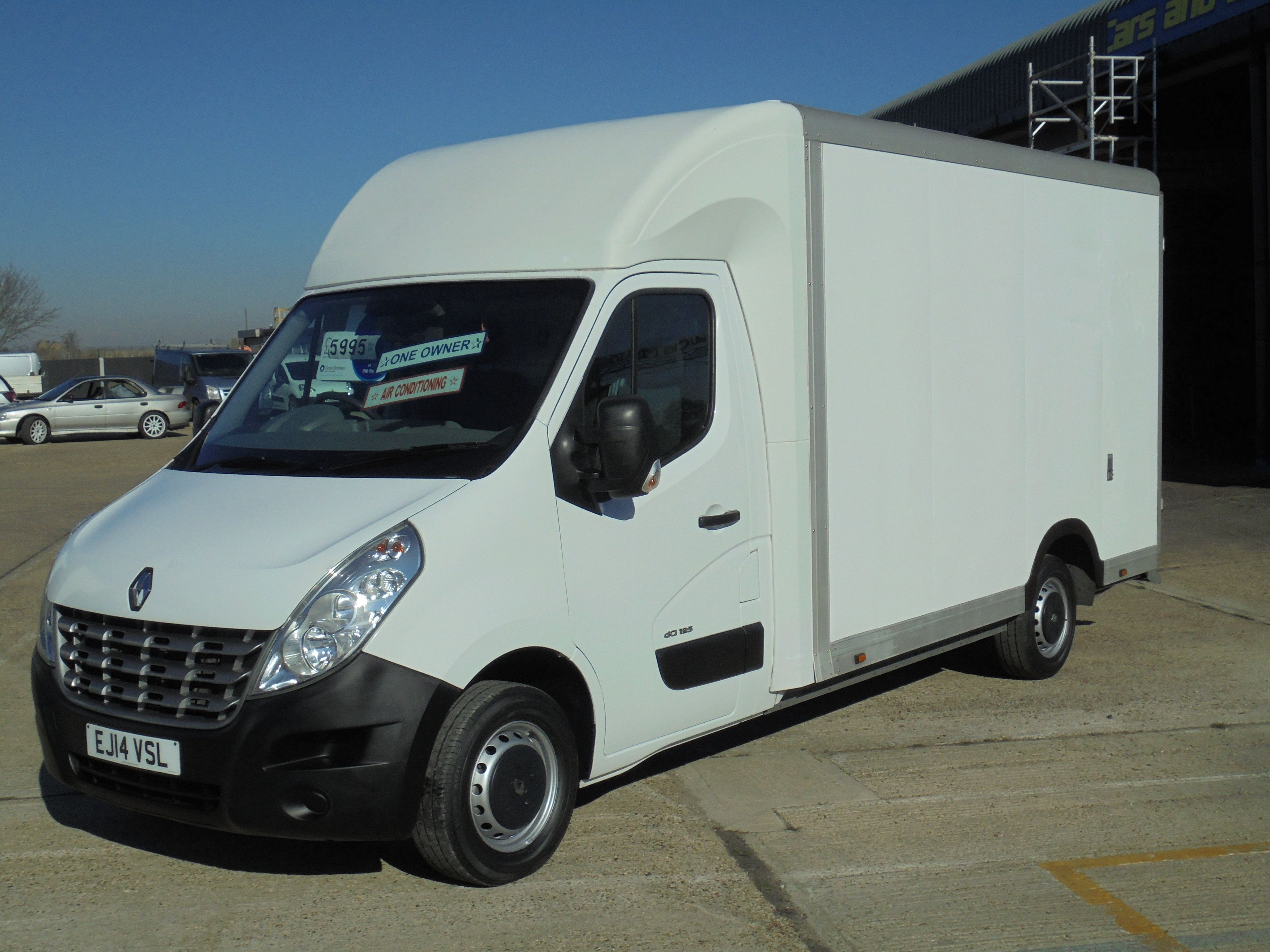 2014 14 RENAULT MASTER 2.3DCi PCLL35 125 FWD LWB L