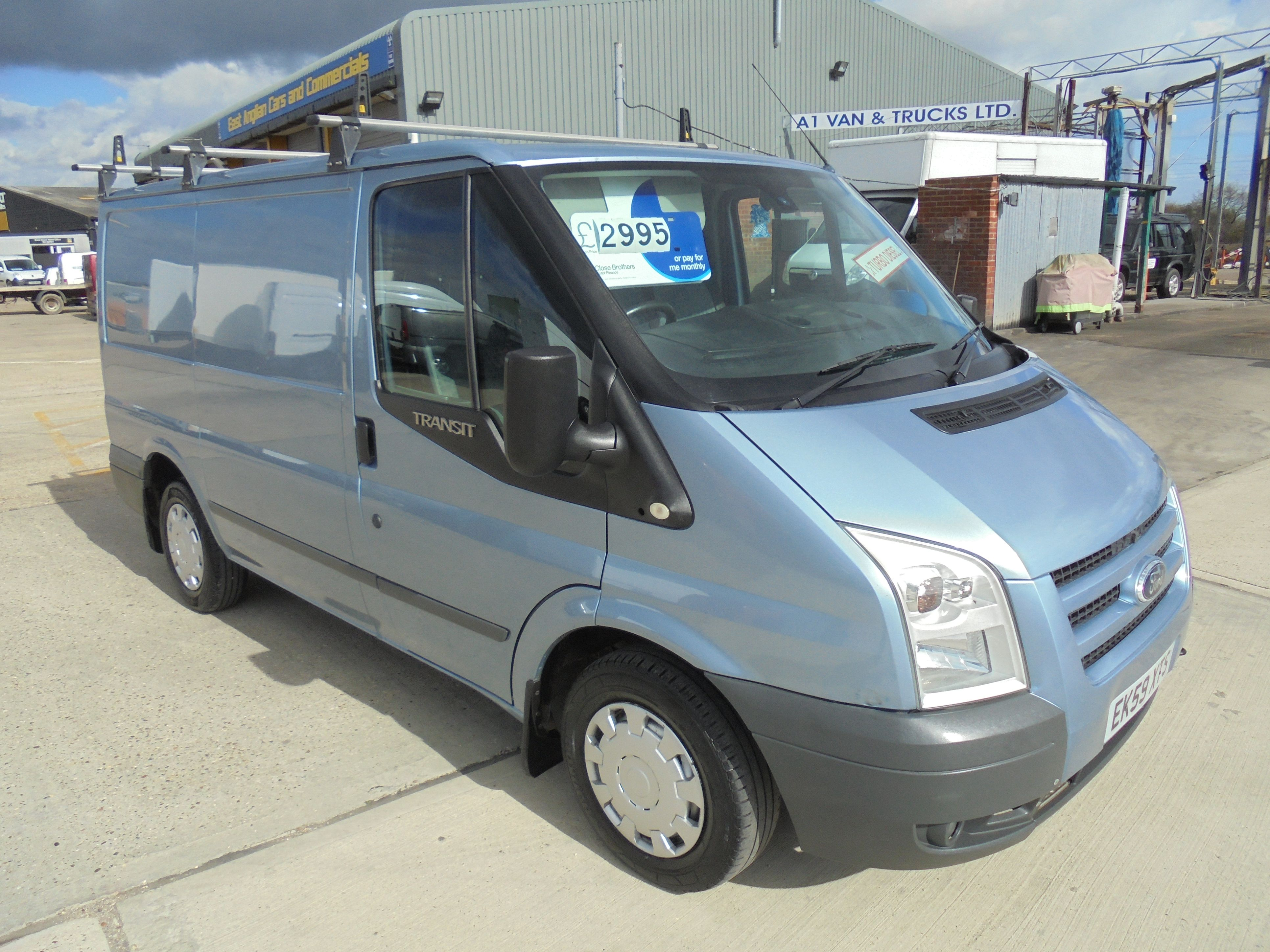 2009 59 FORD TRANSIT TREND 2.2TDCi 115PS 280 SWB