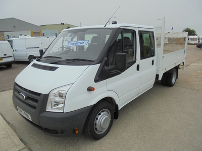 FORD TRANSIT 2.4 TDCI 350 6 SEATS DOUBLE CAB