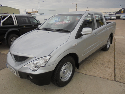 2011 SSANGYONG ACTYON SPORTS A200S TRUCK