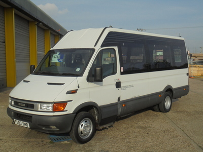 2002 IVECO IRIS.BUS DAILY 50C13 6 SPEED 17 SEATER