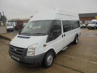 2011 61 FORD TRANSIT 2.4 140 6SPEED T430 16 SEATER
