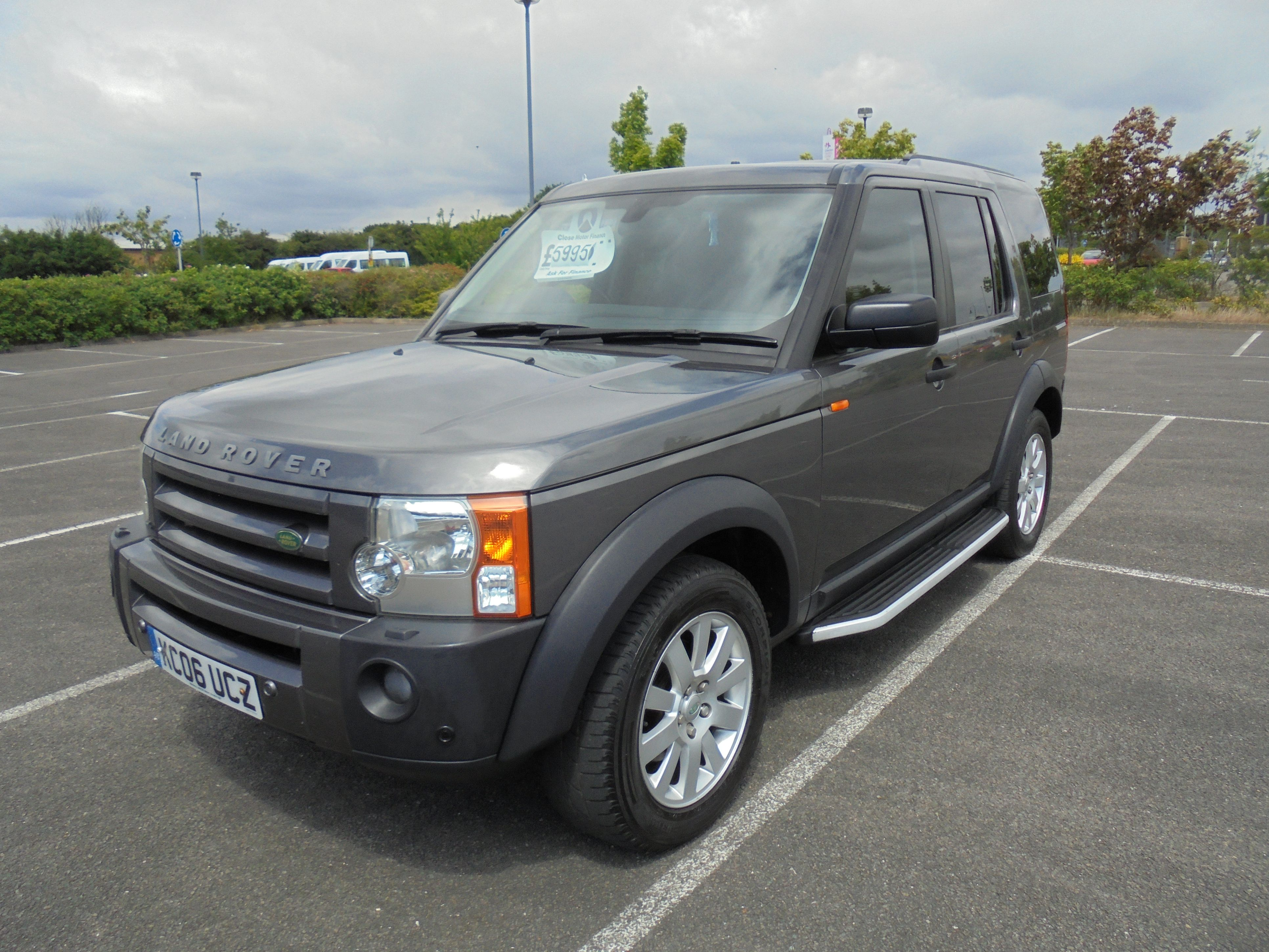 2006 LAND ROVER DISCOVERY 3 2.7TD V6 SE 7 SEATER