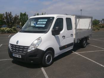 2011 61 RENAULT MASTER DOUBLE CAB 7 SEATER