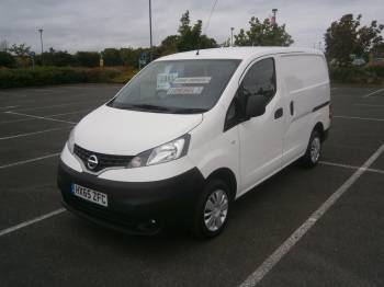 2015 65 NISSAN NV200 ACENTA 1.5 DCI LOW MILEAGE